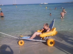 amphibious floating chairs